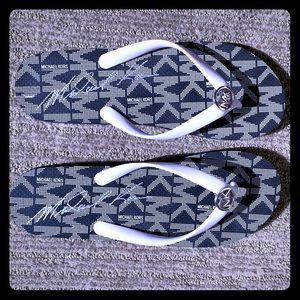 Michael Kors Flip Flops - NEW
